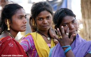 Young women in the city of Satna