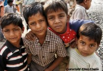 Boys in the city of Bhopal