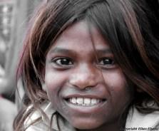 Girl at the city of Ujjain