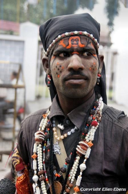 Man at the city of Ujjain