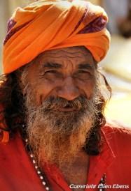 Man in the city Omkareshwar