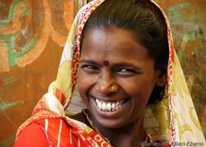 Woman in the city Omkareshwar