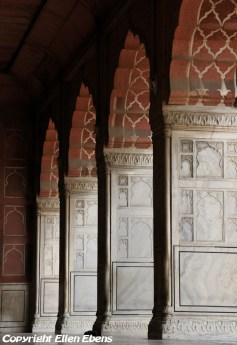 Detail of the Jama Mashid Mosque, Delhi