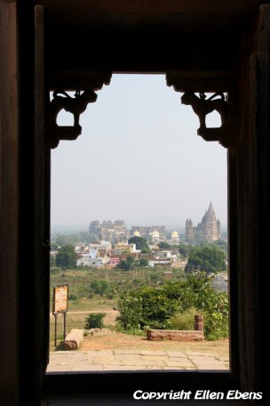 View from the Lakshmi Naryan Temple on the Jahangir Mahal Palace, Orccha
