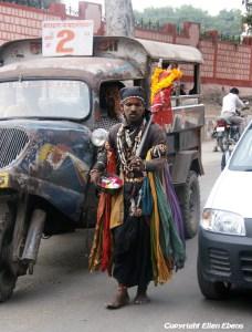 Sadhu Street in the city of Ujjain