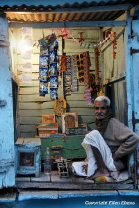 Little shop in the city of Ujjain