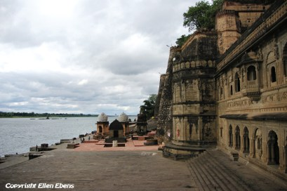 The Palace Fort of the city of Maneshwar