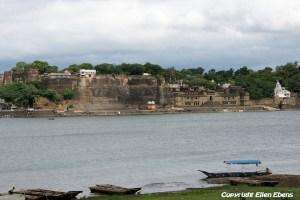 The river at the city of Maneshwar