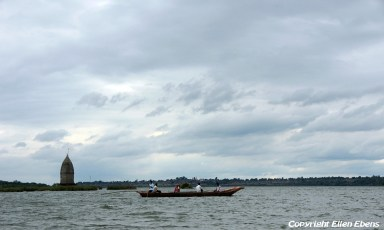 Boat on the river, Maneshwar