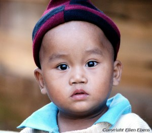 Young boy, Inle Lake