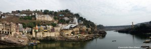 The holy city of Omkareswar