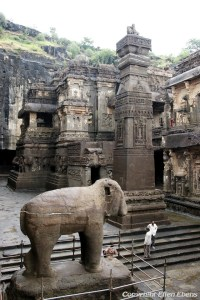 Ellora: the famous Kailasa Temple