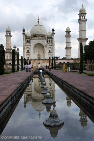 The Bibi Ka Maqbara in the city of Aurangabad, also called the poor man's Taj