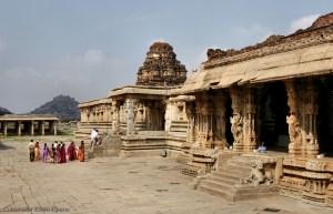 Hampi, the Vitthala temple