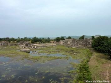 View from Jahaz Mahal Palace, Mandu