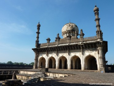 The Ibrahim Rauza Thumb and Mosque at the city of Bijapur