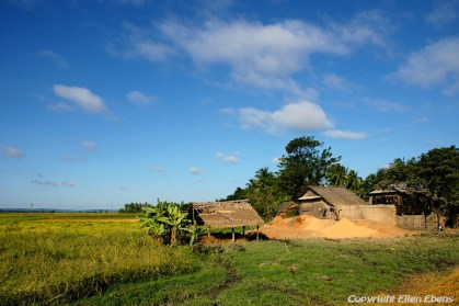 A farm on the road from Toungoo to Kalaw
