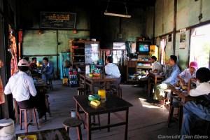 local restaurant at Pindaya