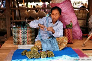 Inle Lake, local market