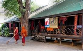 Amarapura, the Mahagandayon Kyaung Monastery