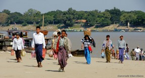 At the other side of the river at Monywa