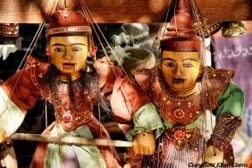 Mingun, puppets for sale