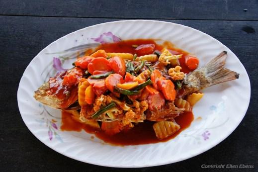 A good lunch at Chauntha Beach