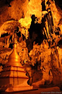Pindaya Cave contains over 8,000 images of Buddha