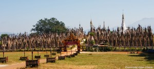 Kakku, forest of ancient stupas