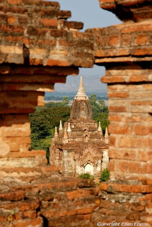 Stupas at the ancient city of Bagan