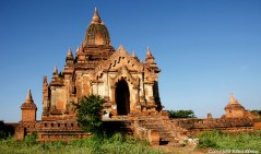 Bagan, the Shweleiktoo Pagoda