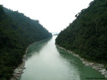 West Bengal Teesta River bridge