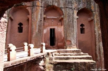 Harar rock-hewn church Bete Gabriel-Rufael