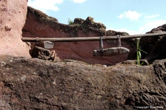 Harar rock-hewn church Bete Qeddus Mercoreus