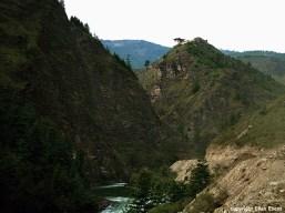 Bhutan landscape