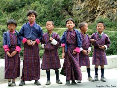 Bhutan children