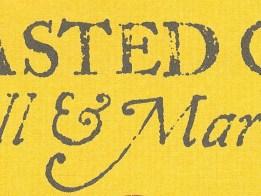 Toasted Oak sign- logo