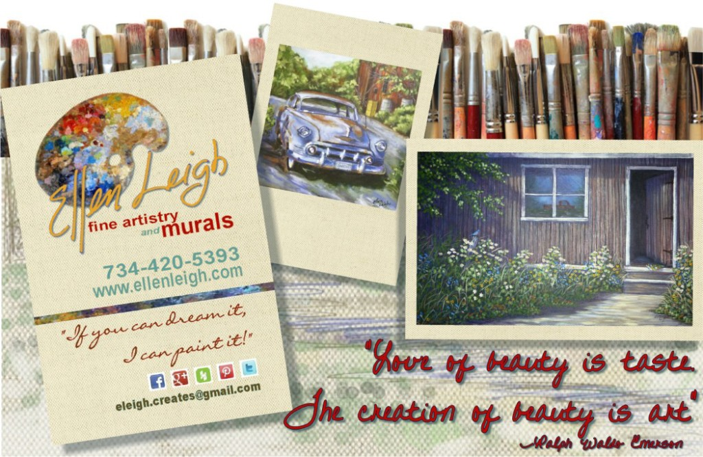 Contact Ellen Leigh for your mural painting needs in SE Michigan