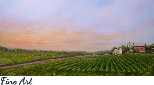 Fine Art paintings, house and pet portraits, landscapes by Michigan artist, Ellen Leigh