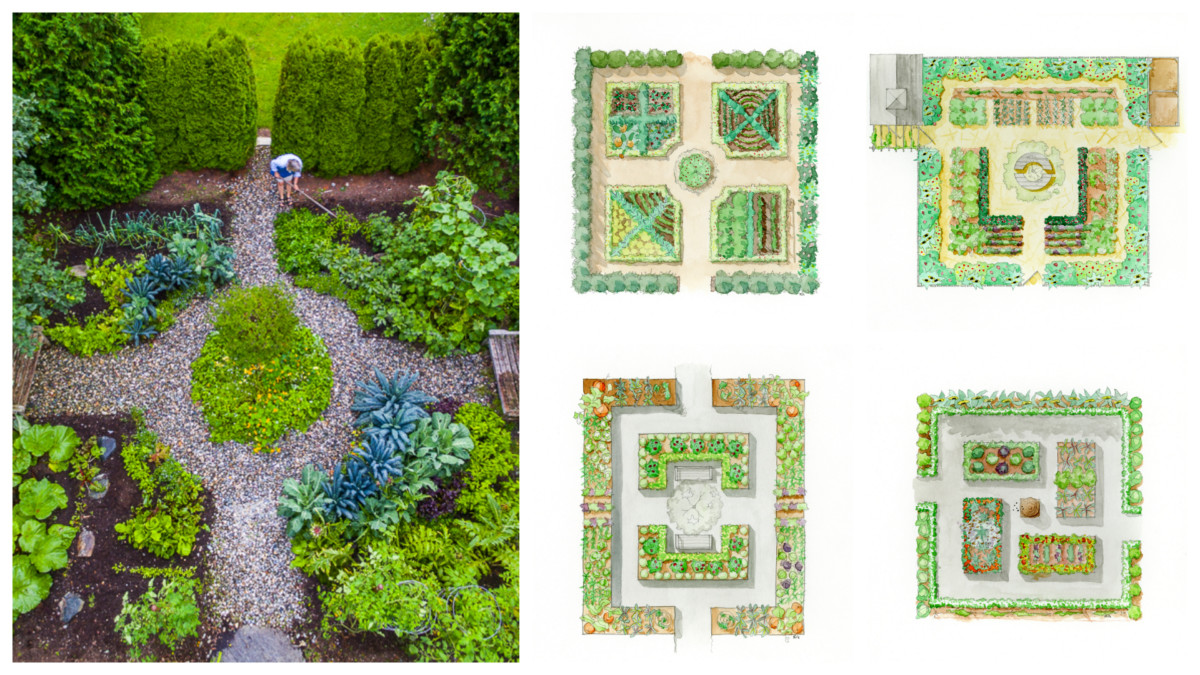 Garden Design Plans - Ellen Ecker Ogden on Backyard Layout Planner  id=50613
