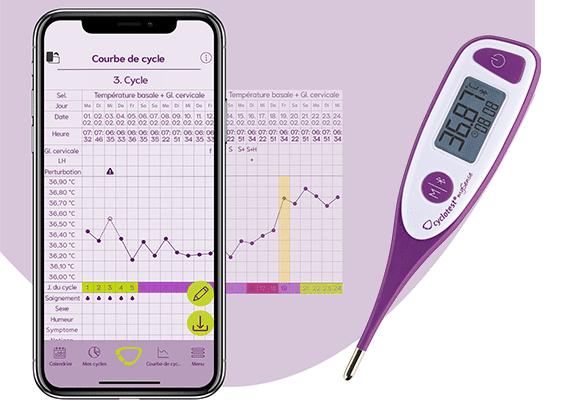 thermomètre-basal-connecté