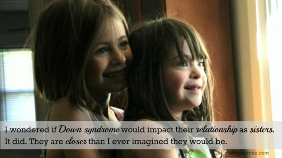 down syndrome siblings