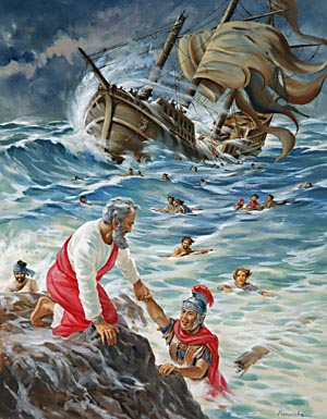 Just as Paul had spoken, not one life was lost in the shipwreck.