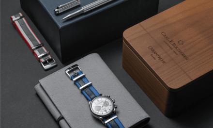 VARIUS SIGNATURE & Uhr MANERO FLYBACK C. F. BUCHERER – Limitierte Edition