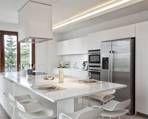 Raffinato minimalismo - Cucina