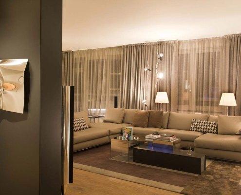 Comfort e design a Milano - Salotto