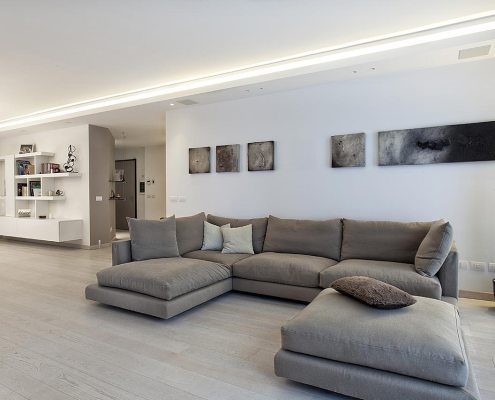 Raffinato minimalismo - Living