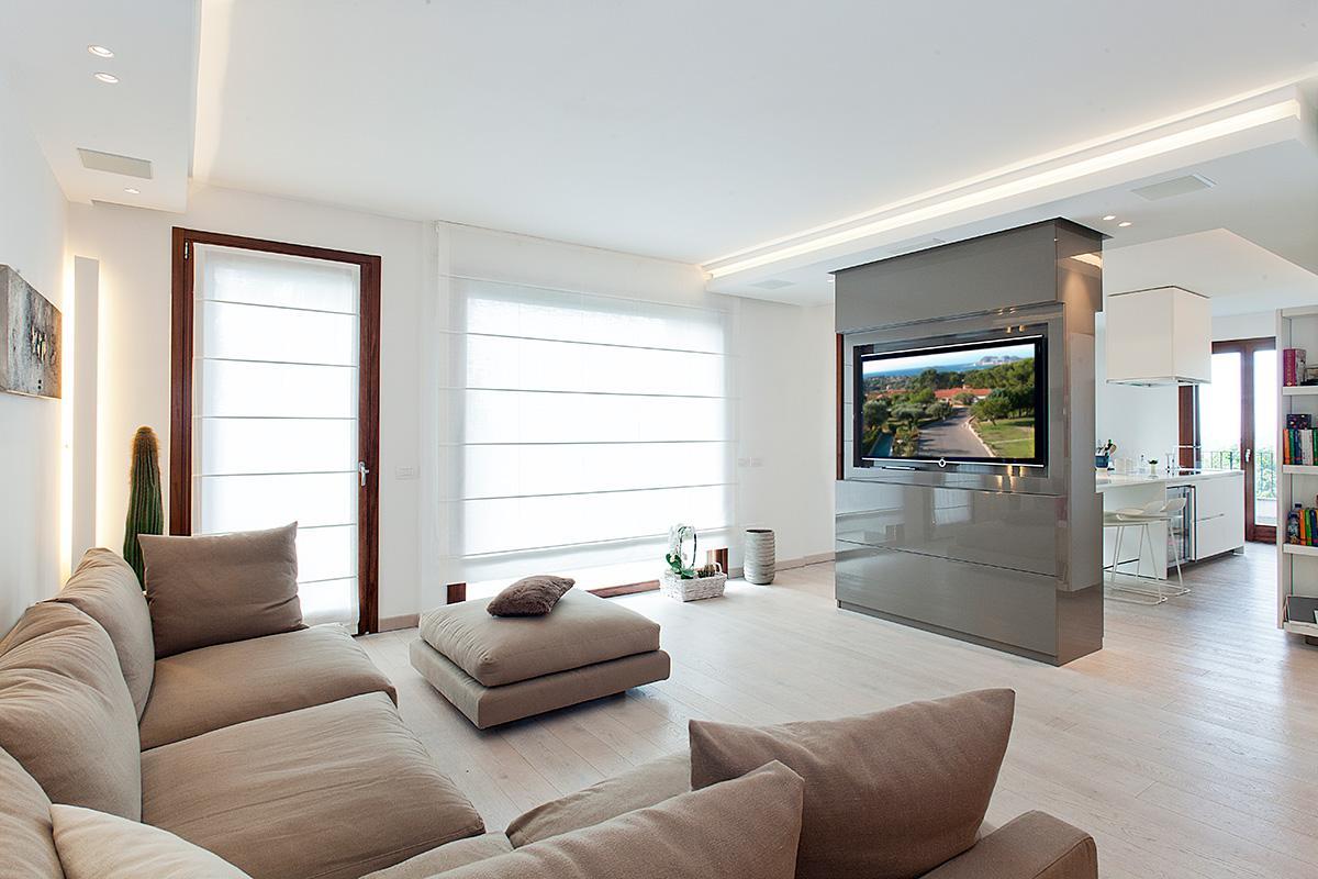Attico 10 - Salotto - Ellepi Interior Design