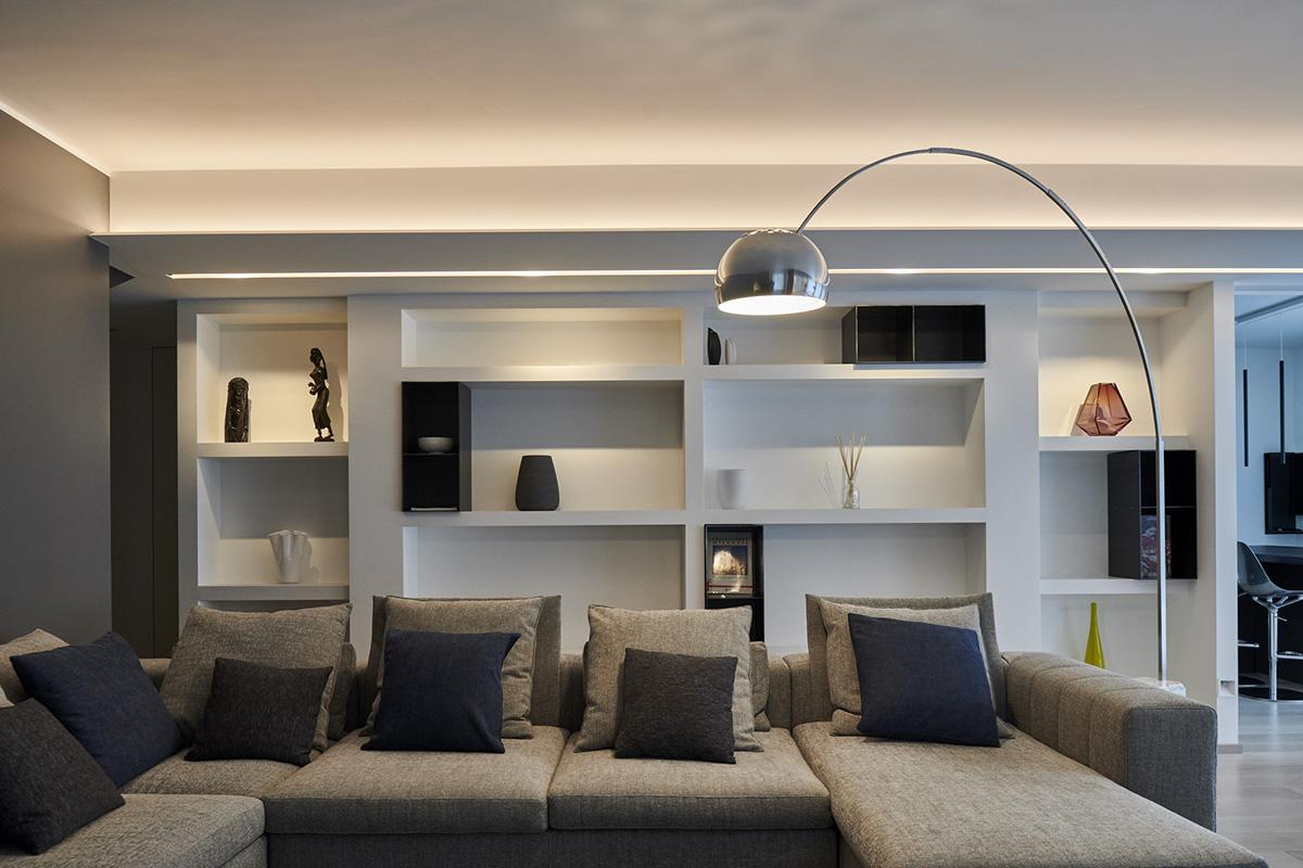 Villa 17 - Soggiorno - Ellepi Interior Design