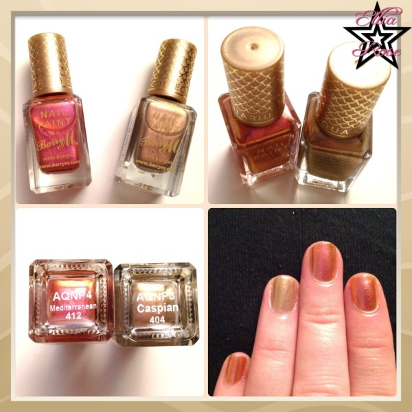 Vernis BartyM Swatches